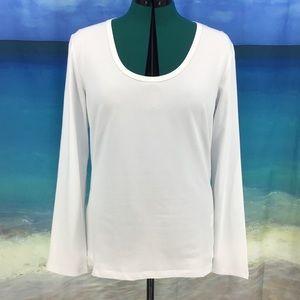 Yest Yamara Basic Cotton Jersey Long Sleeve Tee 14